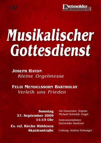2009-09-Haydn-Messe